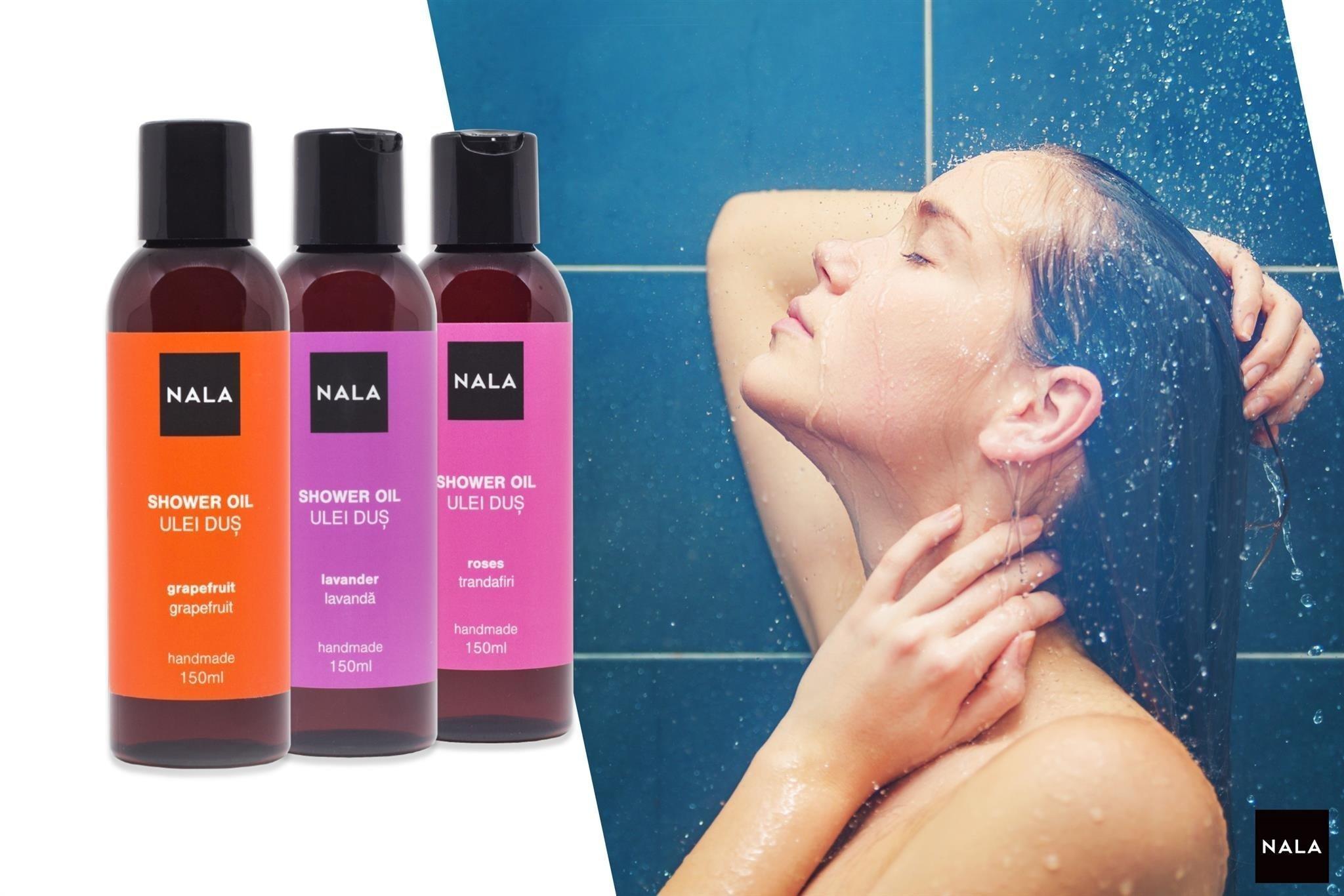 Beneficiile uleiului de duș